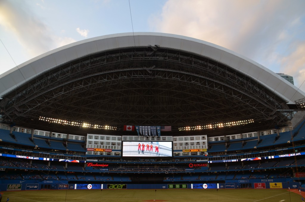 An Open Dome at the Rogers Centre