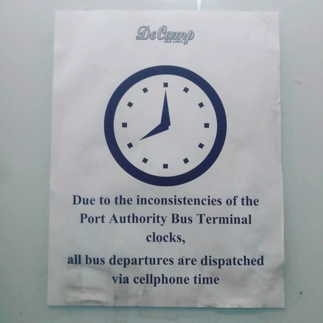 Those damn clocks