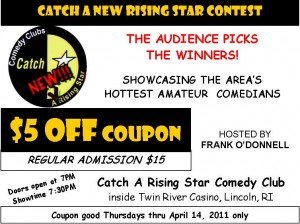 Catch A New Rising Star coupon