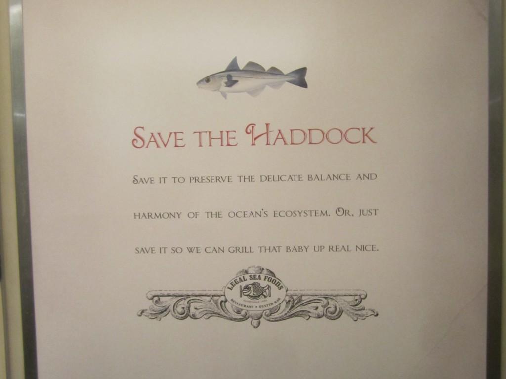 Save the Haddock