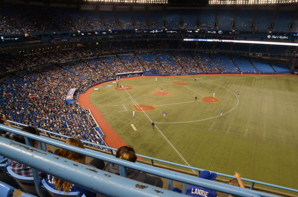 Nosebleeds at Rogers Centre