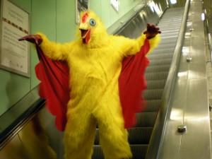 Chicken Escalator